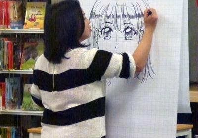 Ausgebucht: Manga Workshop mit Simone Xie